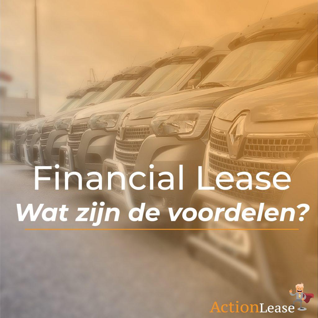 Financial Lease – Wat zijn de voordelen?